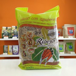 Heno con zanahoria Ribero...